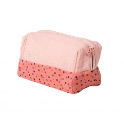 TROUSSE DE TOILETTE ROSE...